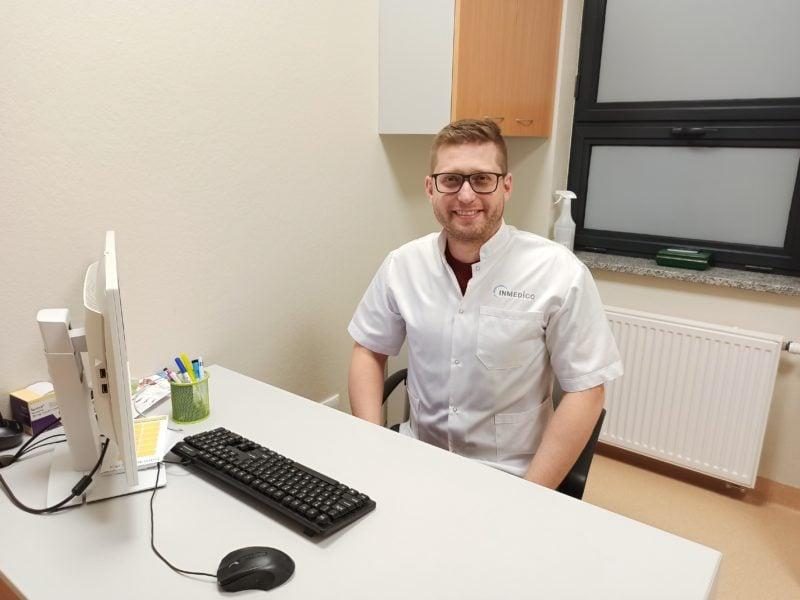 #LekarzZuśmiechem – lek. med. Michał Pułtorak