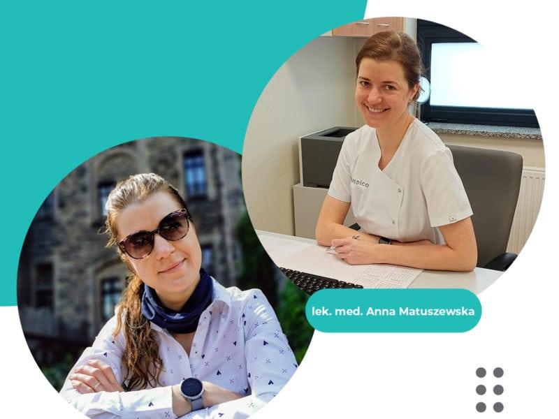 #LekarzZuśmiechem – lek. med. Anna Matuszewska